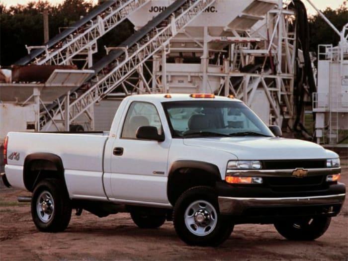 2001 Chevrolet Silverado 2500HD Information | Autoblog