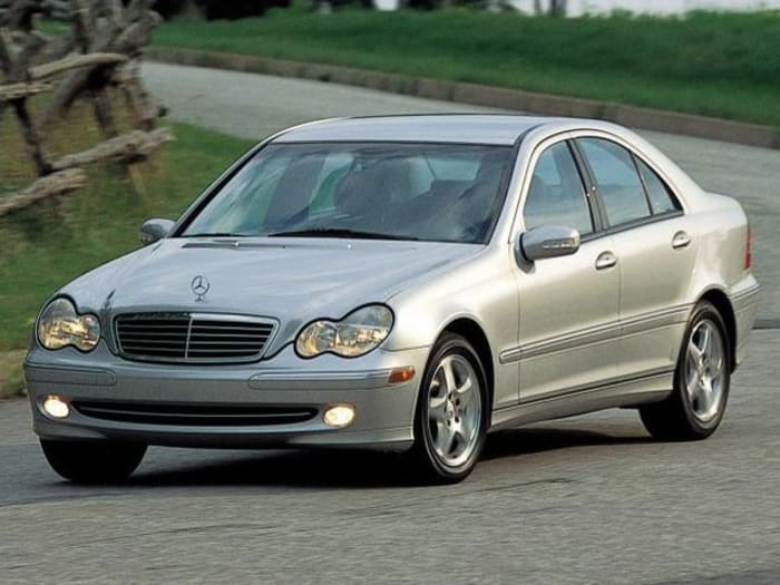 2001 mercedes benz c class crash test ratings for Mercedes benz safety rating