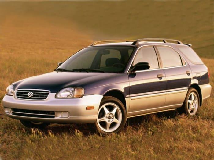 2001 suzuki esteem gl 4dr station wagon information. Black Bedroom Furniture Sets. Home Design Ideas