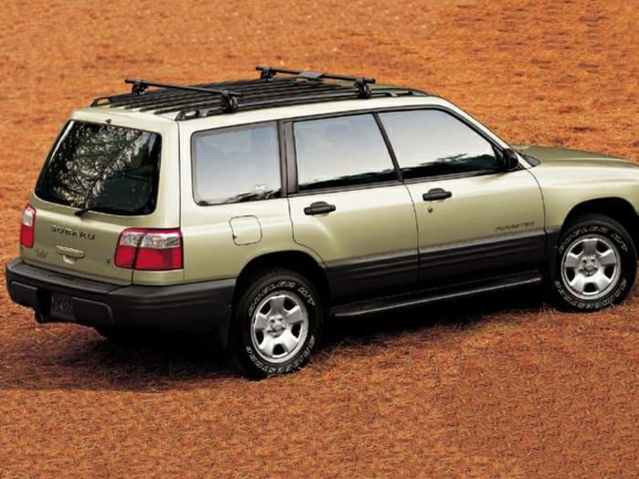 2001 Subaru Forester Crash Test Ratings