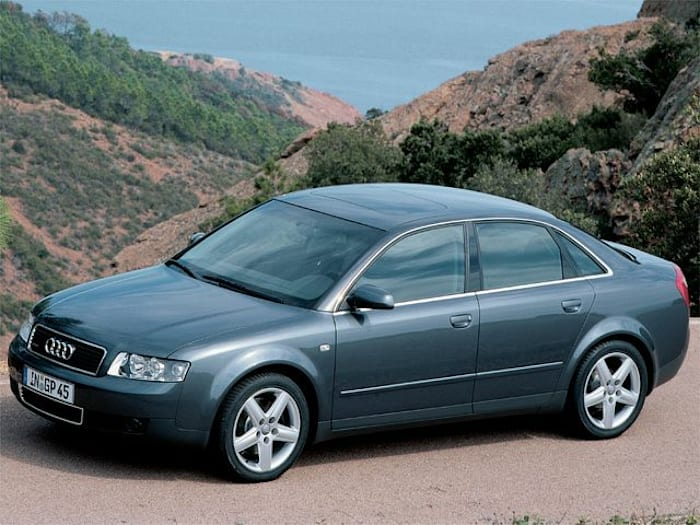 2002 Audi A4 New Car Test Drive