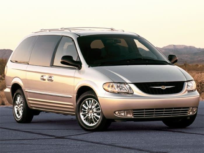 2002 chrysler town country new car test drive. Black Bedroom Furniture Sets. Home Design Ideas