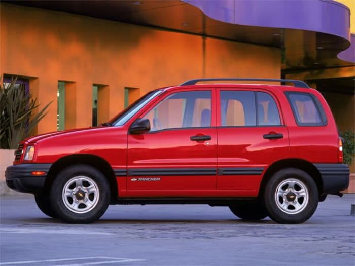 2002 Chevrolet Tracker Hard Top Zr2 4dr 4x4 Specs And