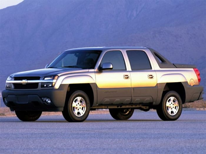 2002 chevrolet avalanche 1500 safety features. Black Bedroom Furniture Sets. Home Design Ideas
