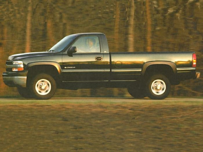 2002 chevrolet silverado 2500hd base 4x2 regular cab 8 ft box 133 in wb specs and prices. Black Bedroom Furniture Sets. Home Design Ideas