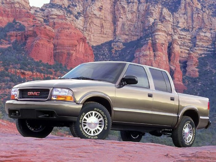 2002 gmc sonoma sls 4x4 crew cab 122 9 in wb pricing and. Black Bedroom Furniture Sets. Home Design Ideas