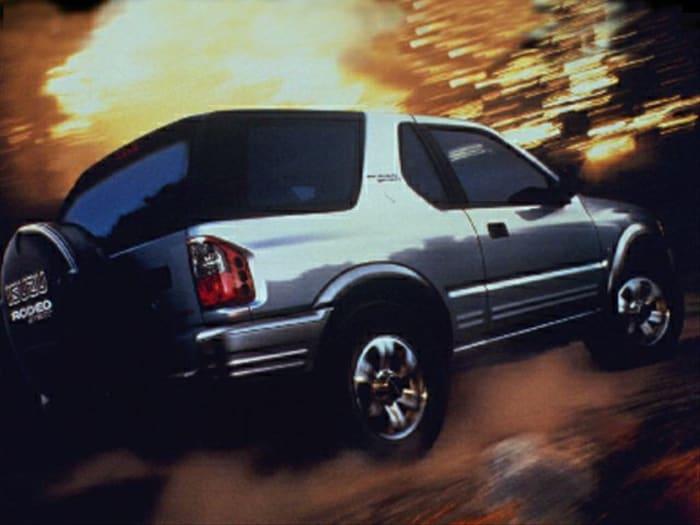2002 Isuzu Rodeo Sport S 3 2l V6 Hard Top 2dr 4x4