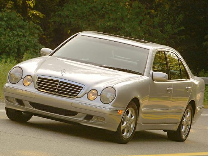 2002 mercedes benz e class information for Mercedes benz a service checklist