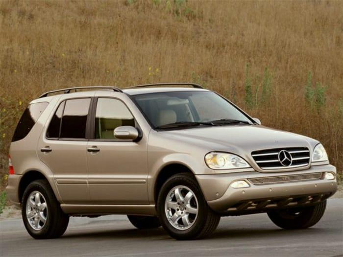 2002 mercedes benz m class new car test drive. Black Bedroom Furniture Sets. Home Design Ideas