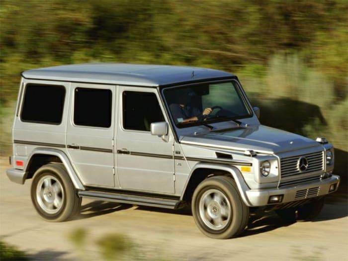 2002 mercedes benz g class new car test drive. Black Bedroom Furniture Sets. Home Design Ideas