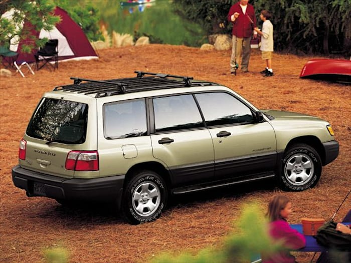 2002 Subaru Forester Pictures