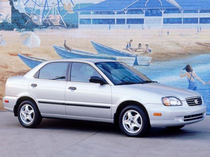 2002 Suzuki Esteem Gl 4dr Sedan Specs And Prices