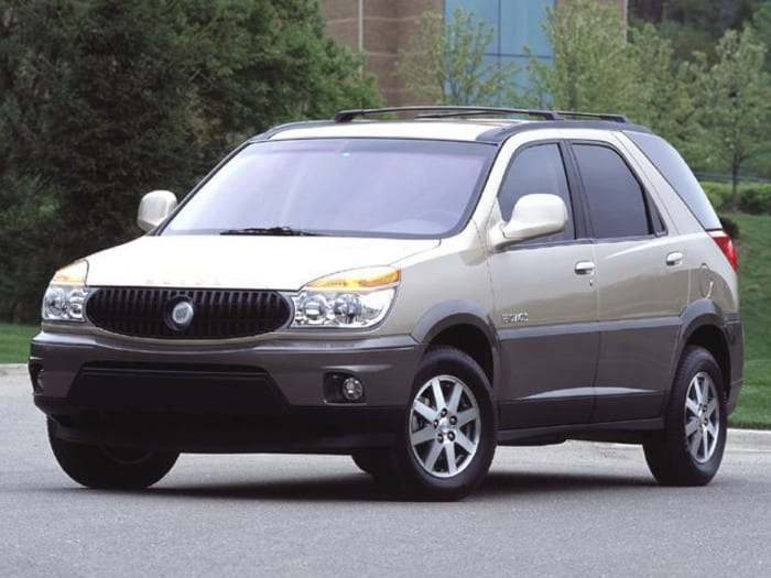 2004 buick rendezvous new car test drive. Black Bedroom Furniture Sets. Home Design Ideas