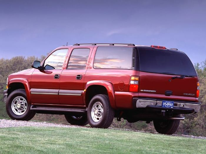 2003 chevrolet suburban 1500 safety features. Black Bedroom Furniture Sets. Home Design Ideas