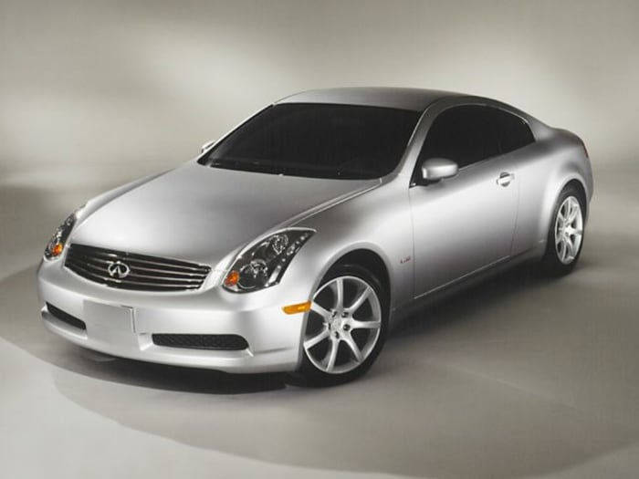2003 infiniti g35 base w 6 speed manual 2dr coupe specs and prices. Black Bedroom Furniture Sets. Home Design Ideas