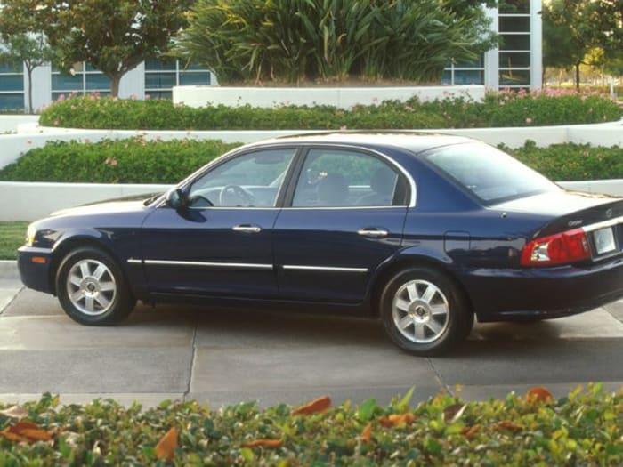 2003 kia optima new car test drive. Black Bedroom Furniture Sets. Home Design Ideas