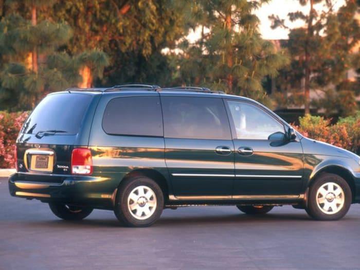 2003 kia sedona new car test drive. Black Bedroom Furniture Sets. Home Design Ideas