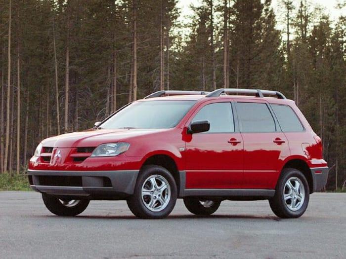 2004 mitsubishi outlander new car test drive. Black Bedroom Furniture Sets. Home Design Ideas