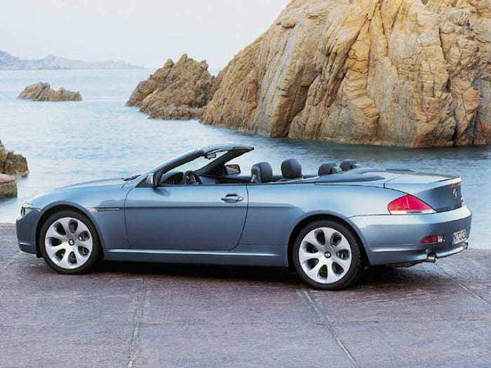 2004 bmw 645 ci 2dr convertible pricing and options. Black Bedroom Furniture Sets. Home Design Ideas