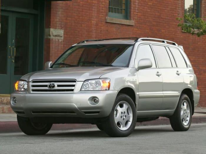 2005 toyota highlander new car test drive. Black Bedroom Furniture Sets. Home Design Ideas