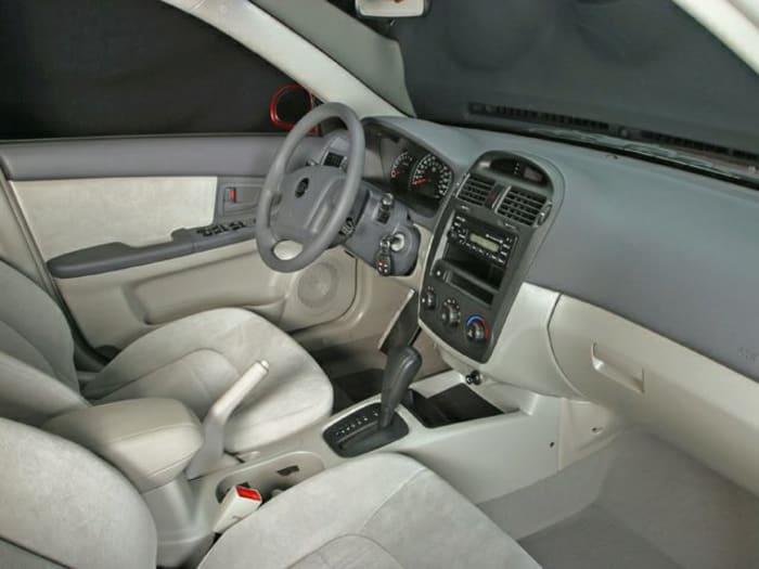 2005 kia spectra new car test drive. Black Bedroom Furniture Sets. Home Design Ideas