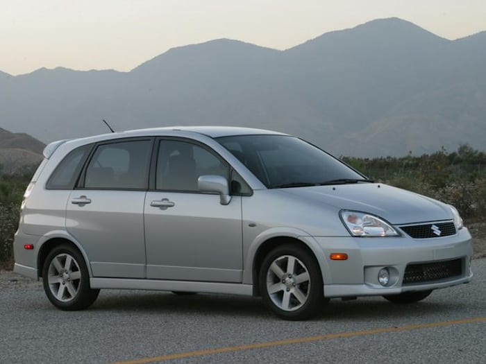 2006 Suzuki Aerio Sx Information