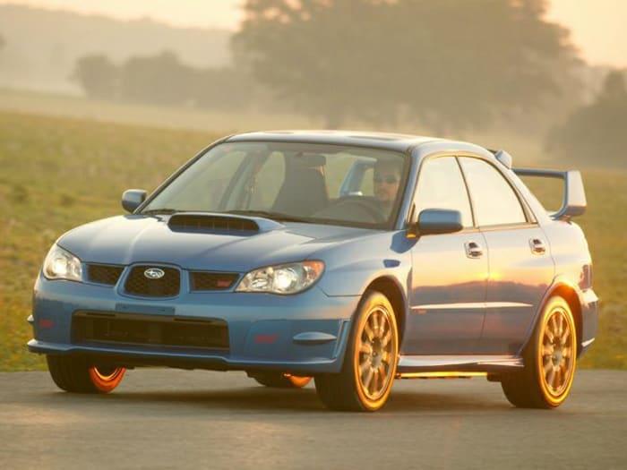 2006 Subaru Impreza WRX STi Information