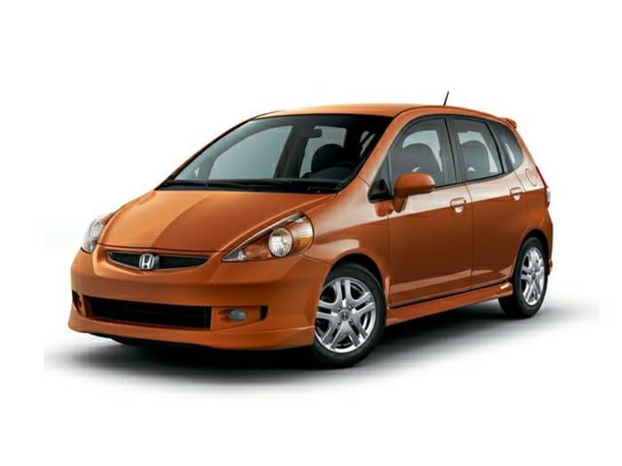 2007 honda fit sport 4dr front wheel drive hatchback. Black Bedroom Furniture Sets. Home Design Ideas