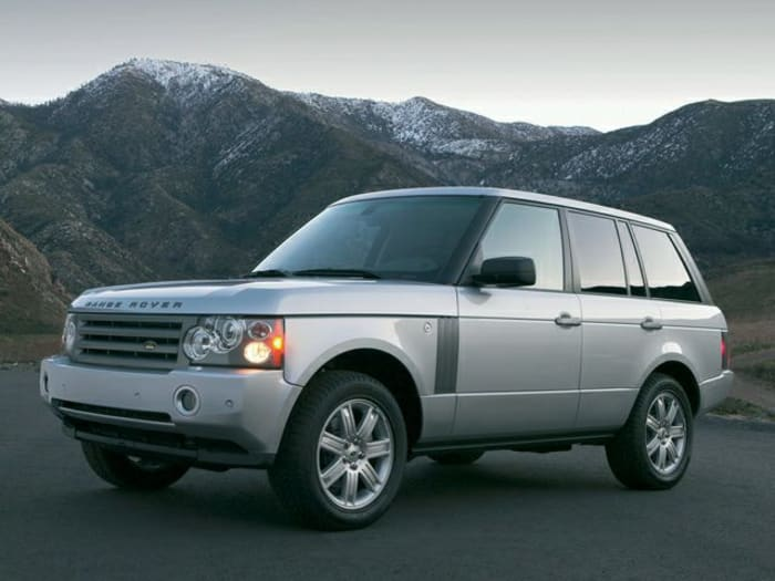 2007 land rover range rover crash test ratings. Black Bedroom Furniture Sets. Home Design Ideas