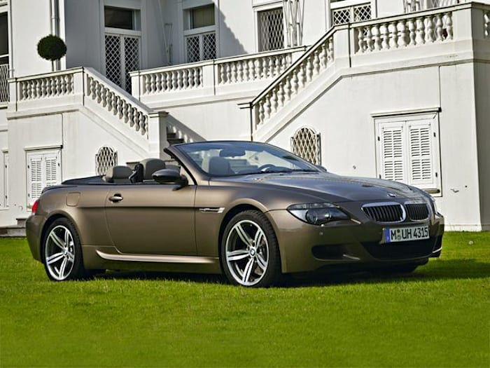 2008 bmw m6 base 2dr rear wheel drive convertible information. Black Bedroom Furniture Sets. Home Design Ideas
