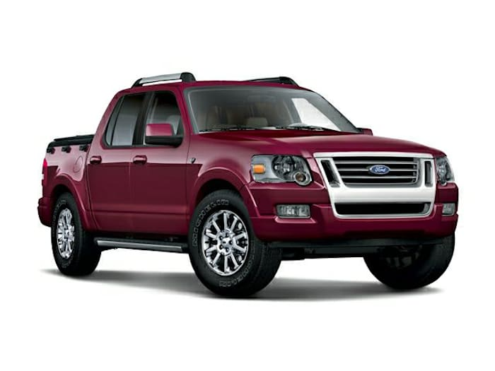 2008 ford explorer sport trac information