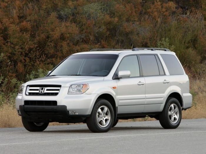 2008 honda pilot crash test ratings. Black Bedroom Furniture Sets. Home Design Ideas