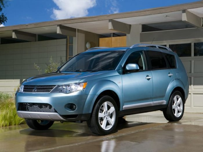 2008 mitsubishi outlander information. Black Bedroom Furniture Sets. Home Design Ideas