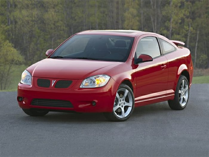 2008 Pontiac G5 Information