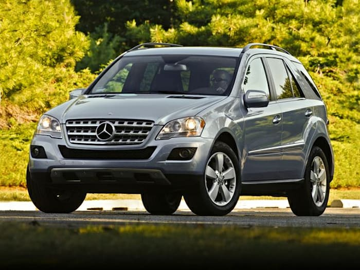 2010 mercedes benz m class information for Mercedes benz suv models list