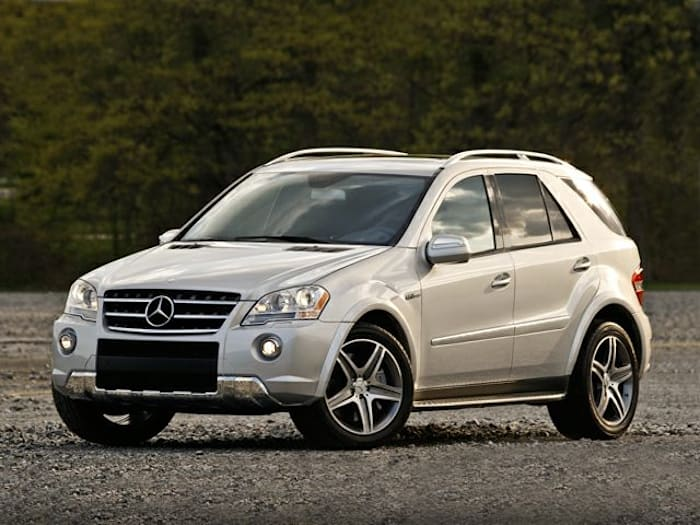 2010 Mercedes Benz M Class Base Ml63 Amg 4dr All Wheel Drive
