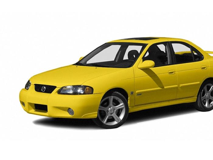 2003 nissan sentra se r spec v lev 4dr sedan specs and prices. Black Bedroom Furniture Sets. Home Design Ideas