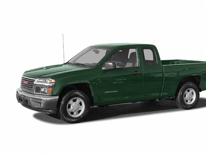 2005 gmc canyon sle w z85 heavy duty 4x4 extended cab 6 ft box 126 in wb pricing and options. Black Bedroom Furniture Sets. Home Design Ideas