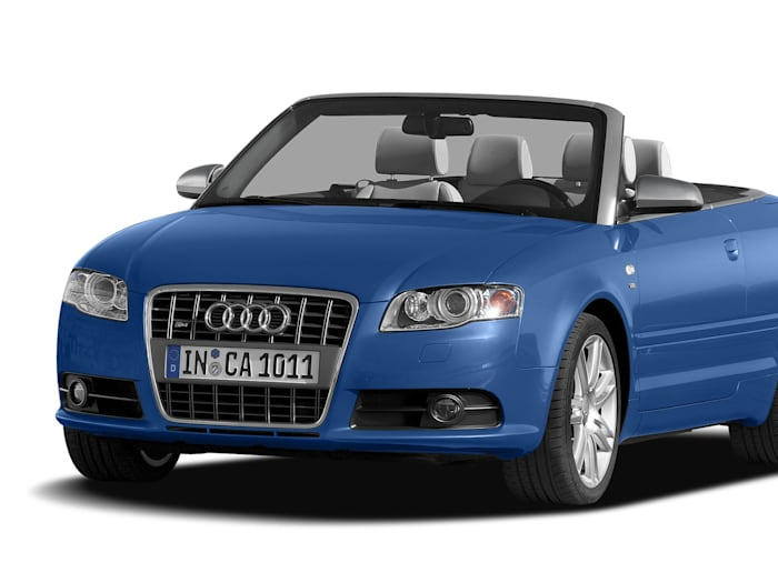 2007 audi s4 base 2dr all wheel drive quattro cabriolet pricing and options. Black Bedroom Furniture Sets. Home Design Ideas