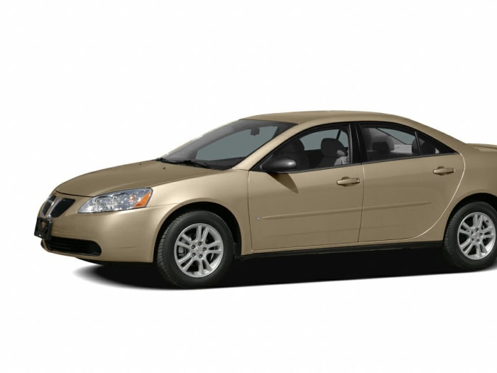 2007 Pontiac G6 Value Leader 4dr Sedan Pricing And Options