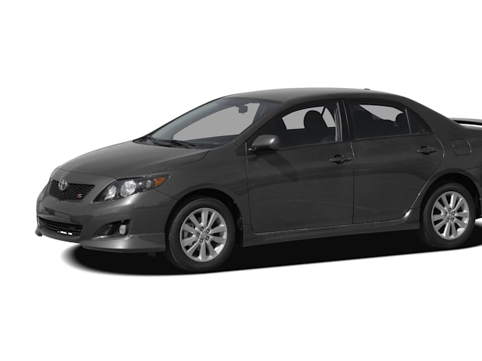 2009 toyota corolla xrs 4dr sedan specs and prices. Black Bedroom Furniture Sets. Home Design Ideas