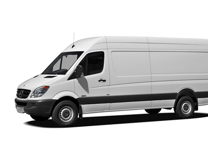 2010 mercedes benz sprinter van high roof sprinter van