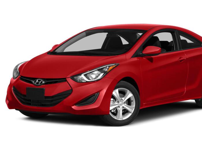 2014 Hyundai Elantra Base 2dr Coupe Pricing And Options