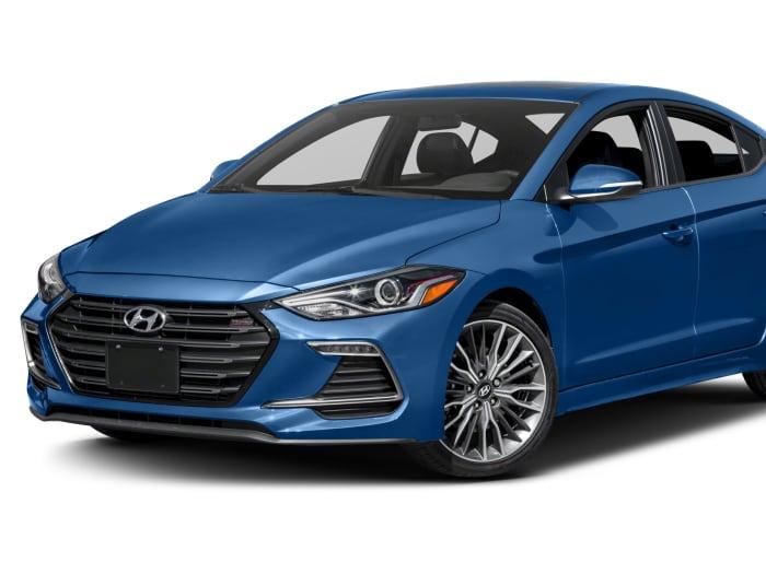 2017 Hyundai Elantra Sport 4dr Sedan Information