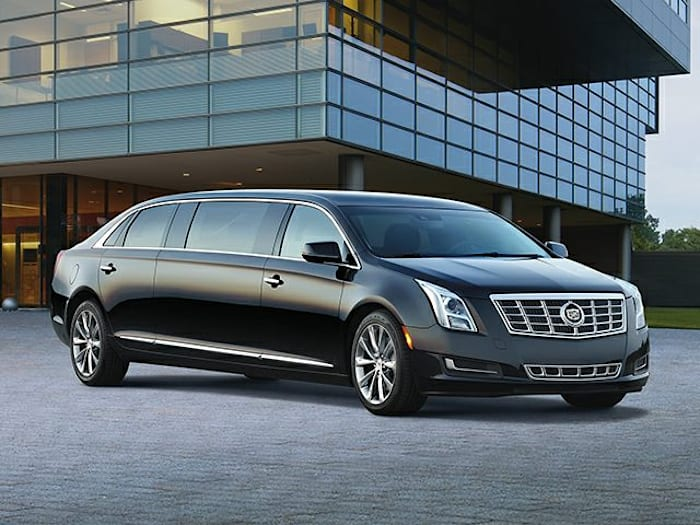 2014 cadillac xts v4u coachbuilder limousine 4dr front wheel drive professional pricing and options. Black Bedroom Furniture Sets. Home Design Ideas