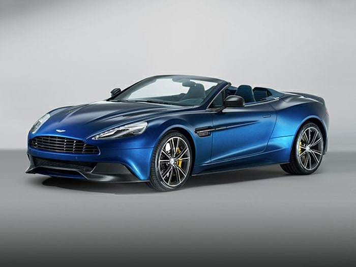 2016 aston martin vanquish volante 2dr convertible pricing and options. Black Bedroom Furniture Sets. Home Design Ideas