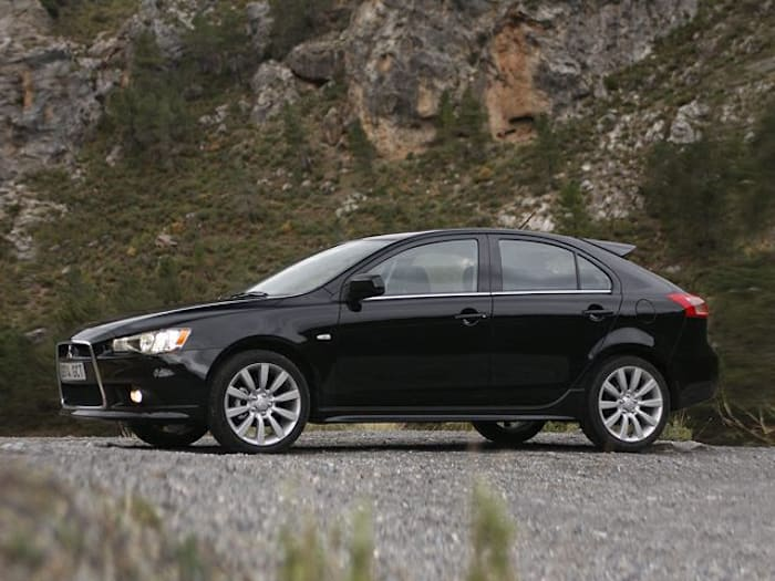 2010 mitsubishi lancer sportback information. Black Bedroom Furniture Sets. Home Design Ideas