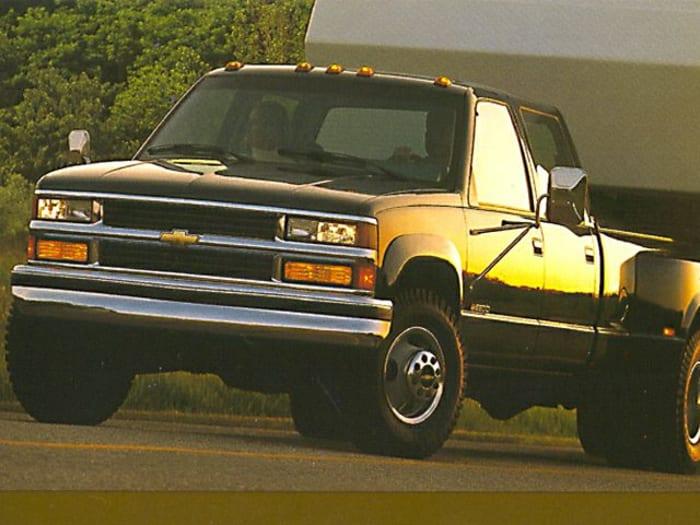 1999 Chevrolet K3500 LS 4x4 Crew Cab 8 ft  box SRW Specs and Prices
