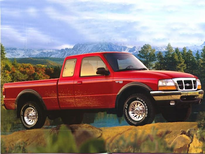 1999 ford ranger xl 4x2 super cab 5 75 ft box 125 7 in wb specs and prices autoblog