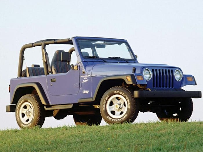 1999 jeep wrangler sport 2dr 4x4 specs and prices. Black Bedroom Furniture Sets. Home Design Ideas
